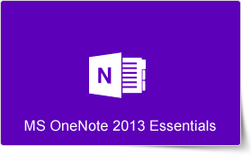 Microsoft OneNote 2013 Essentials Training Course