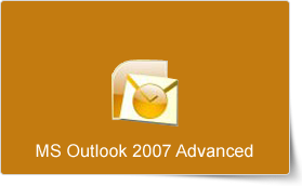 Microsoft Outlook 2007 Advanced Training Course