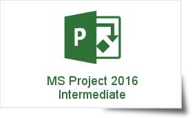 Microsoft Project 2016 Intermediate Training Course - Online Instructor-led Training