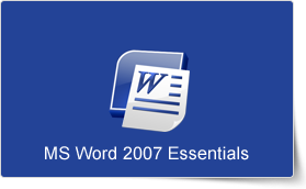 Microsoft Word 2007 Essentials Training Course