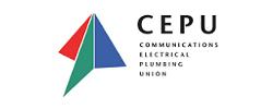 CEPU Plumbers Union logo