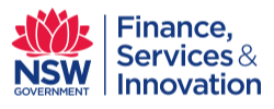 NSW Department of Finance logo