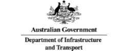 Department of Infrastructure and Transport logo