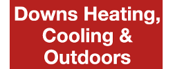 Downs Heating, Cooling & Outdoors logo