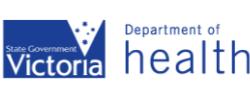 Vic Department of Health logo