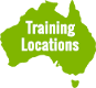 Australia PD Training locations