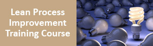 Lean Process Improvement Training Course from pdtraining